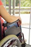 Wheelchair at a home Royalty Free Stock Photography