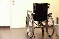 Wheelchair hospital Stock Photo