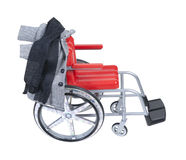 Wheelchair with Houndstooth Jacket and Scarf Royalty Free Stock Image