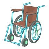 Wheelchair icon, cartoon style Stock Photo