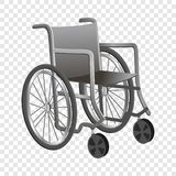 Wheelchair icon, cartoon style royalty free illustration