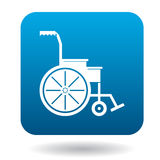 Wheelchair icon in simple style Royalty Free Stock Photography