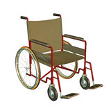 Wheelchair illustration Royalty Free Stock Photo