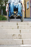 Wheelchair Inaccessable Stairs Stock Photos