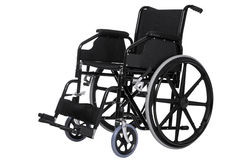 Wheelchair isolated clipping path Royalty Free Stock Photography