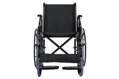 Wheelchair isolated clipping path Royalty Free Stock Photo