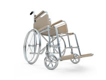 Wheelchair isolated view Royalty Free Stock Photography
