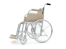 Wheelchair isolated view Royalty Free Stock Image