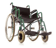 Wheelchair isolated Royalty Free Stock Photos