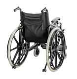 Wheelchair isolated on white background with clipping path.  Royalty Free Stock Image