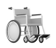 Wheelchair. Isolated on White Background Royalty Free Stock Images