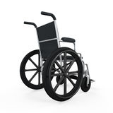 Wheelchair Isolated Stock Photography