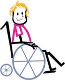 Wheelchair Kid Stock Photography