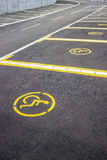 Wheelchair parking space 2 Stock Image