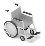 wheelchair pojedynczy białe tło ilustracji