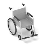 wheelchair pojedynczy białe tło royalty ilustracja