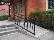Wheelchair ramp Royalty Free Stock Photos