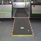 Wheelchair Ramp Bus stock images