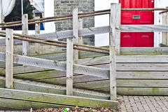 Wheelchair ramp Stock Images