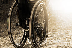 Wheelchair service Stock Photos