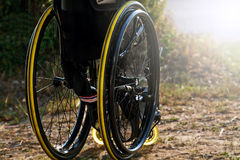 Wheelchair service Royalty Free Stock Images