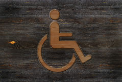 Wheelchair sign Stock Photos
