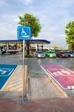 Wheelchair slope route stock photos