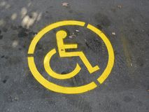 Wheelchair Symbol Stock Photos