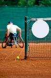 Wheelchair tennis Stock Image