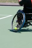 Wheelchair Tennis Player Royalty Free Stock Photography