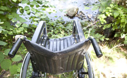 Wheelchair Top Royalty Free Stock Photography