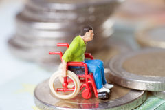 Wheelchair user Stock Photography
