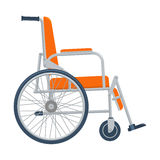 Wheelchair vector illustration isolated on white background Stock Image