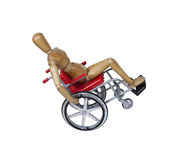 Wheelchair Wheelie Royalty Free Stock Image