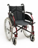 Wheelchair On White Stock Photo
