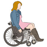 Wheelchair Woman Stock Photos