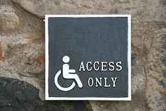 Wheelchairs access Stock Photos