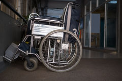 Wheelchairs in a hospital Royalty Free Stock Photo