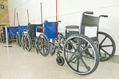 Wheelchairs Royalty Free Stock Photo