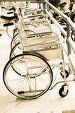Wheelchairs for patient Stock Photos