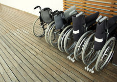 Wheelchairs Stock Photos