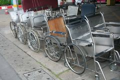 Wheelchairs Royalty Free Stock Photography