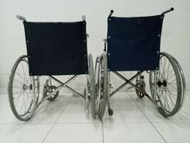 Wheelchairs. Must always be available at the emergency unit, a minimum of 2 pieces Royalty Free Stock Images