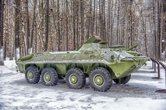 Wheeled armored personnel carrier Royalty Free Stock Photos
