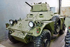 Wheeled armoured fighting vehicle Ferret MkII Stock Images