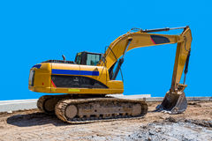 Wheeled Excavator Royalty Free Stock Image