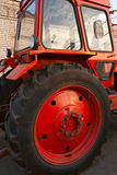 Wheeled tractor Stock Photography