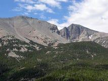 Wheeler Peak в большом национальном парке таза, Nev Стоковые Изображения RF