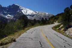 Wheeler Peak Imagen de archivo libre de regalías