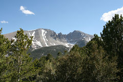 Wheeler Peak, Nevada. Wheeler Peak in Great Basin National Park Stock Photos